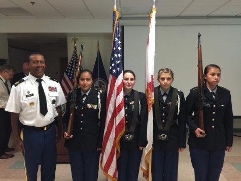 Color Guard at the VA