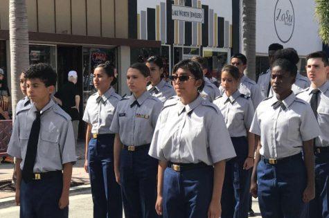 JROTC Veterans Day Parade