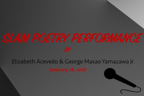 On Campus Poetry Slam Performance
