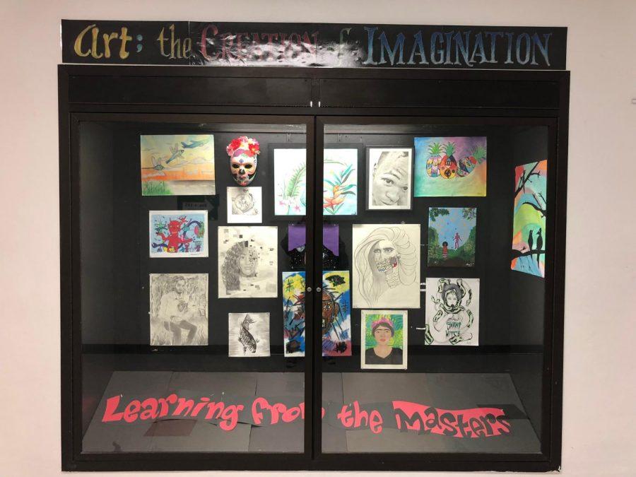 Art Chiefs Display Work