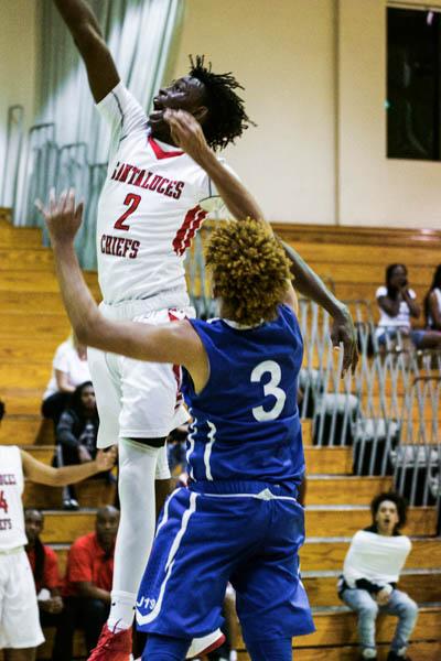 Varsity Basketball Dominating