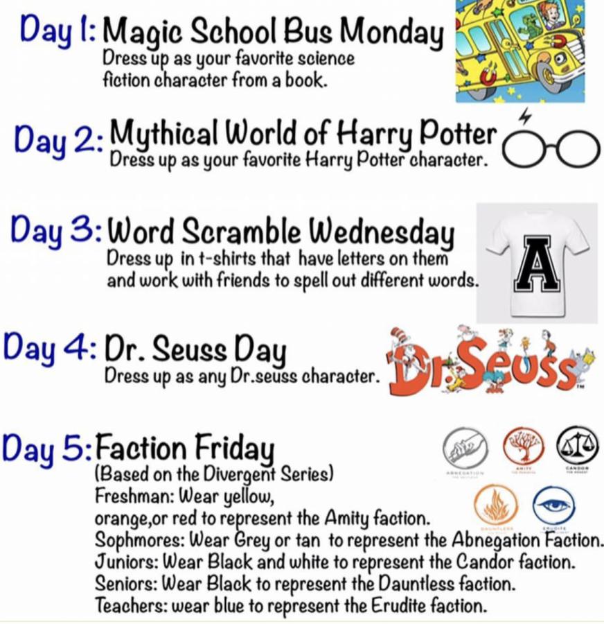 Literacy Week Events