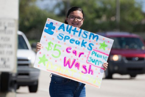 Autism Speaks Car Wash