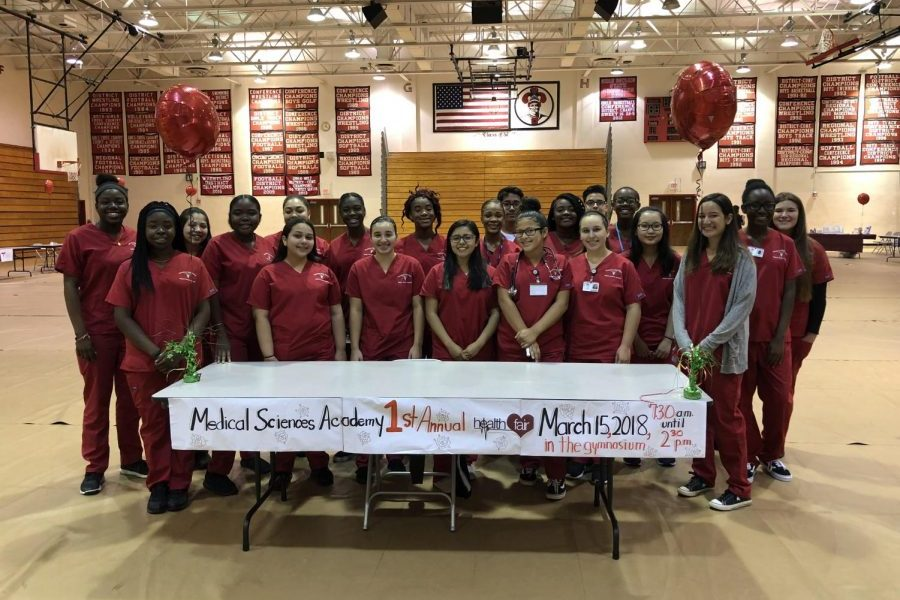 Medical Academy Hosts Health Fair