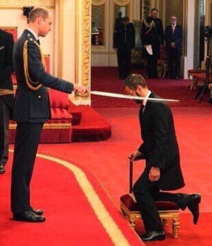 Ex-Beatle Ringo Starr Knighted