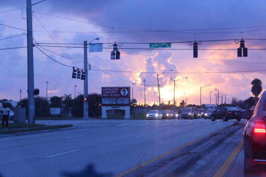 Sunrise+Over+Santaluces