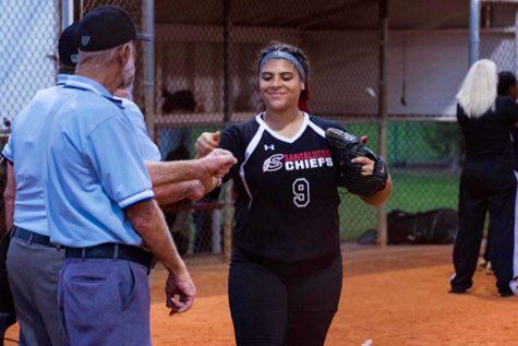 Chiefs' Softball Player: Melanie Guzman