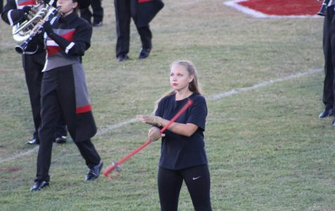 Chiefs Color Guard Captain: Emily Moyer