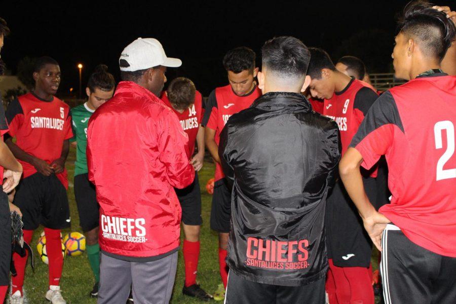 The Santaluces soccer team
