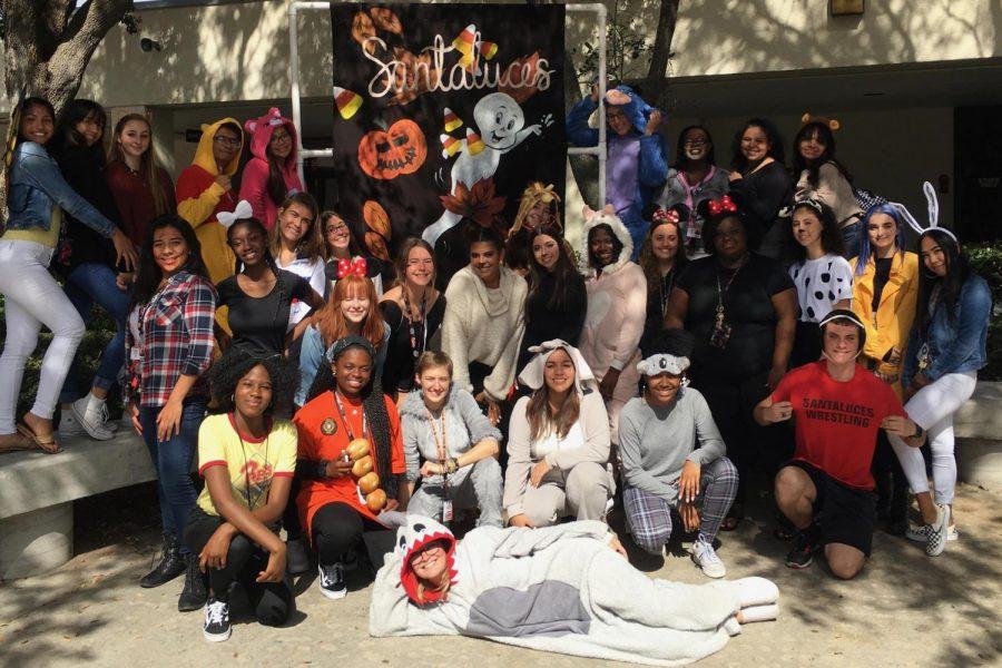Halloween Costume Contestants