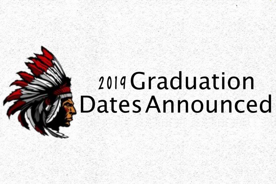 2019 Graduation Dates Announced