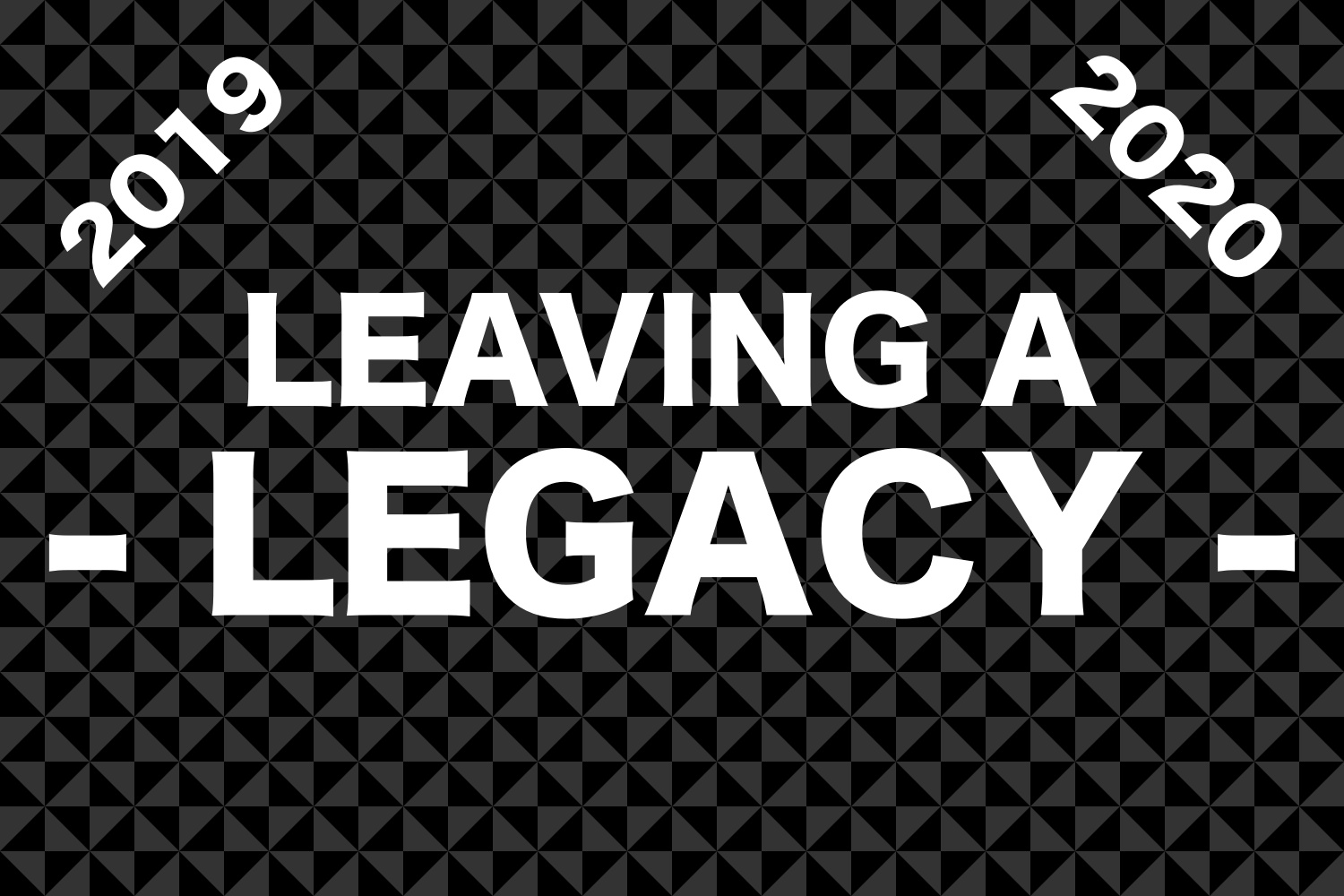 What does leaving a legacy behind reveal about a class?