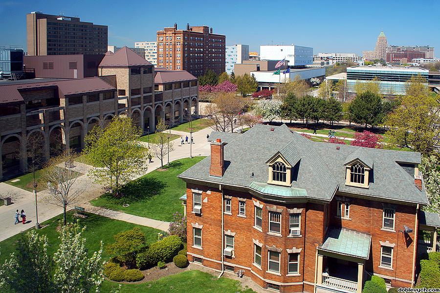 college campus!