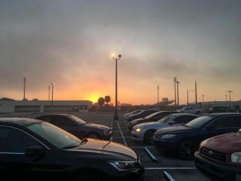 Morning Fog Can't Stop a Beautiful Florida Sunrise