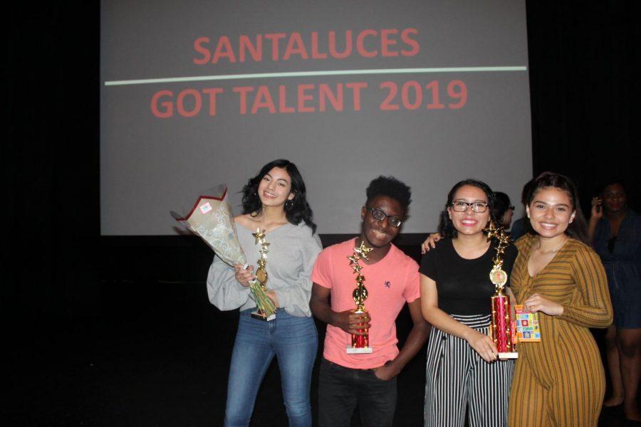 Talent Show winners.