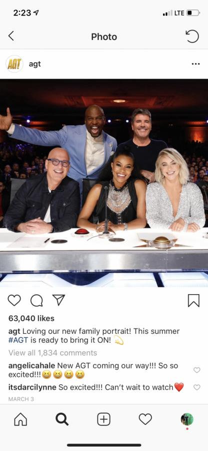 The new America's Got Talent Judges