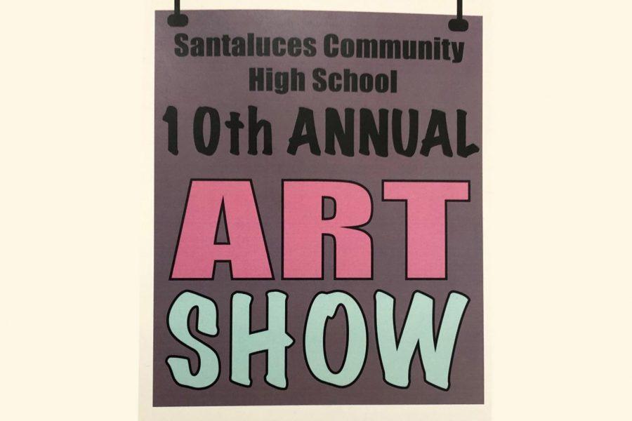 Santaluces' 10th Annual Art Show.