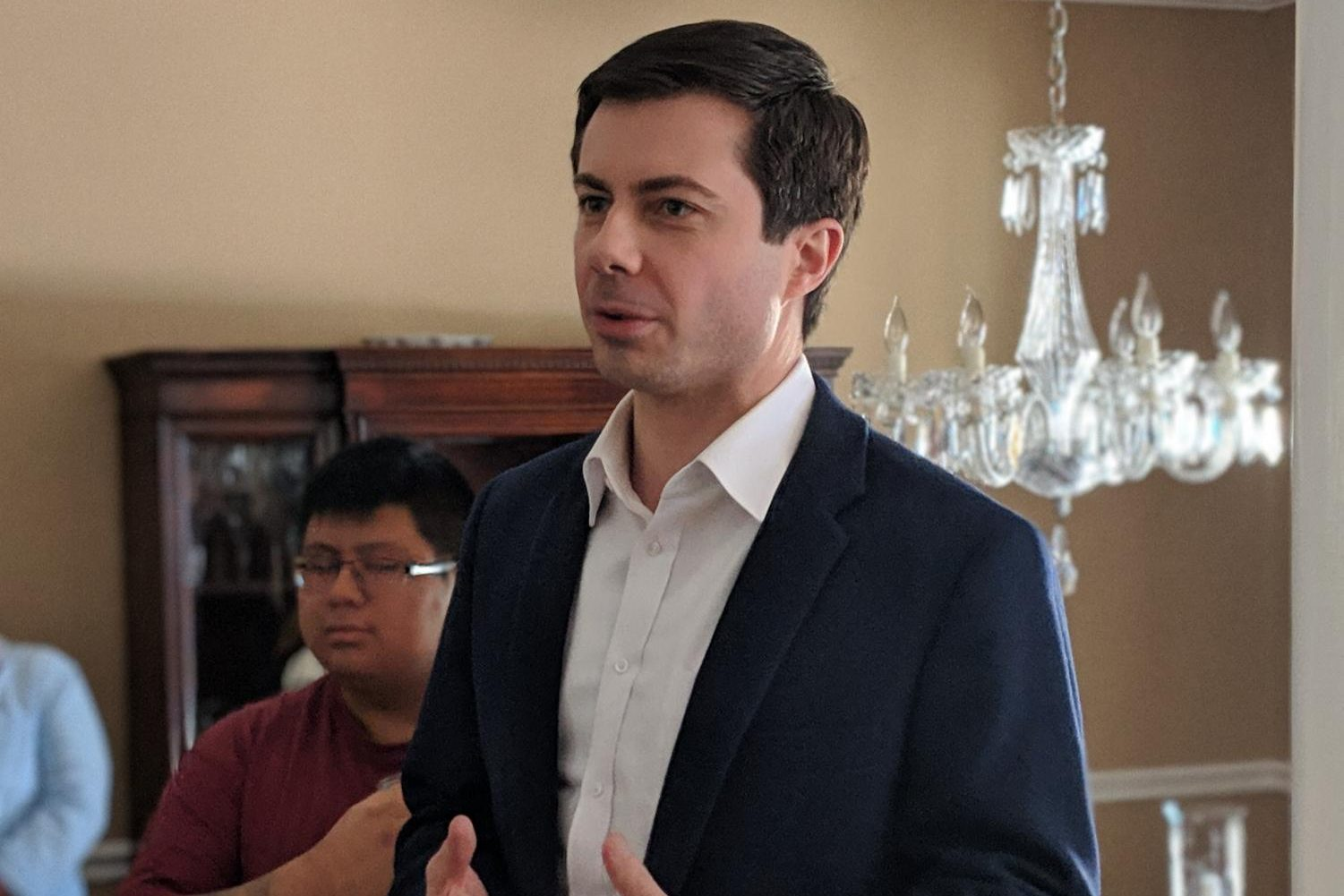 Pete Buttigieg, the 37 year old mayor running for the Democratic nomination.