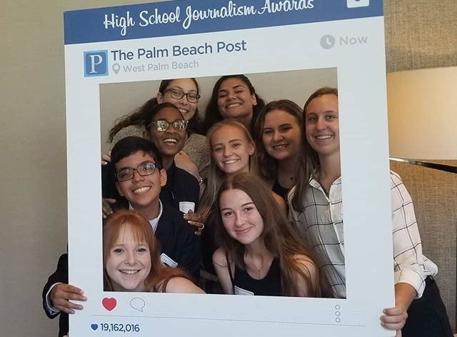 The Tribe Goes to the High School Journalism Awards