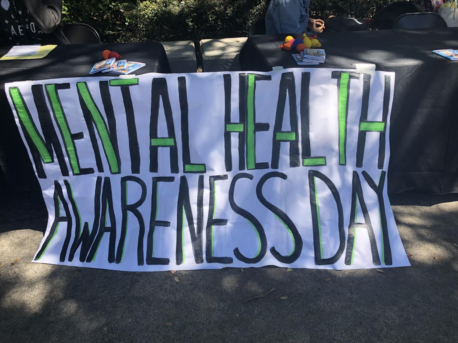 Mental Health Awareness Day, hosted on May 22.