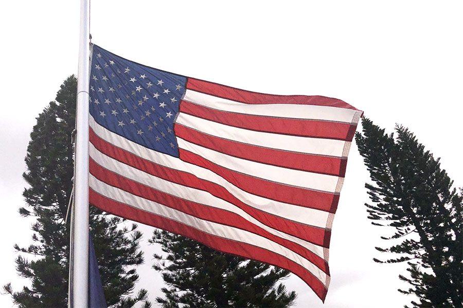 The American Flag symbolizes patriotism.