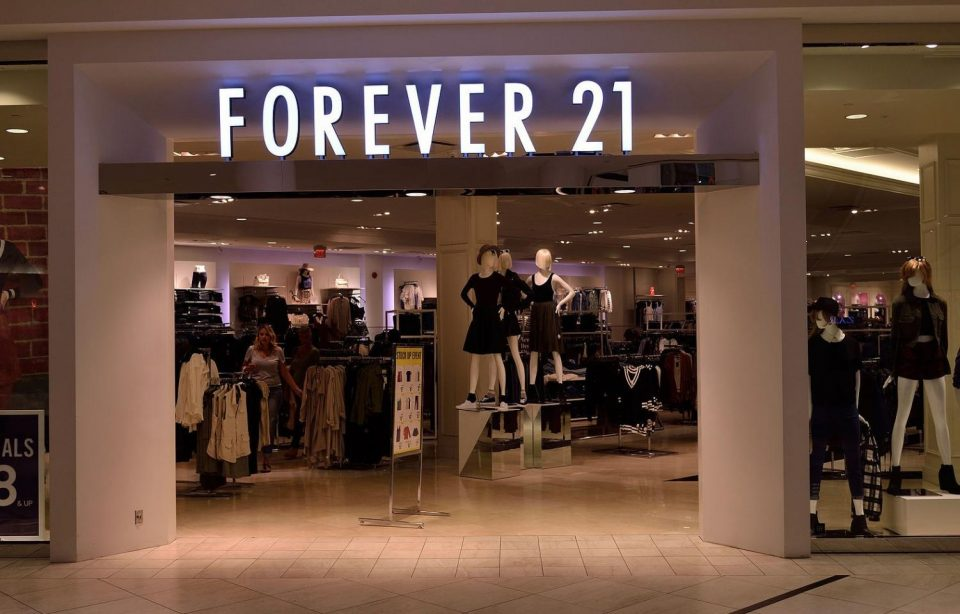 A local Forever 21 store.