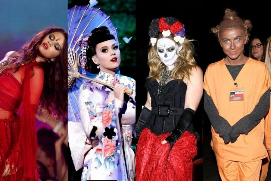 Celebrities are a part of the group that wears these culturally offensive outfits. This provides a negative influence on the people who follow these celebrities' accounts.
