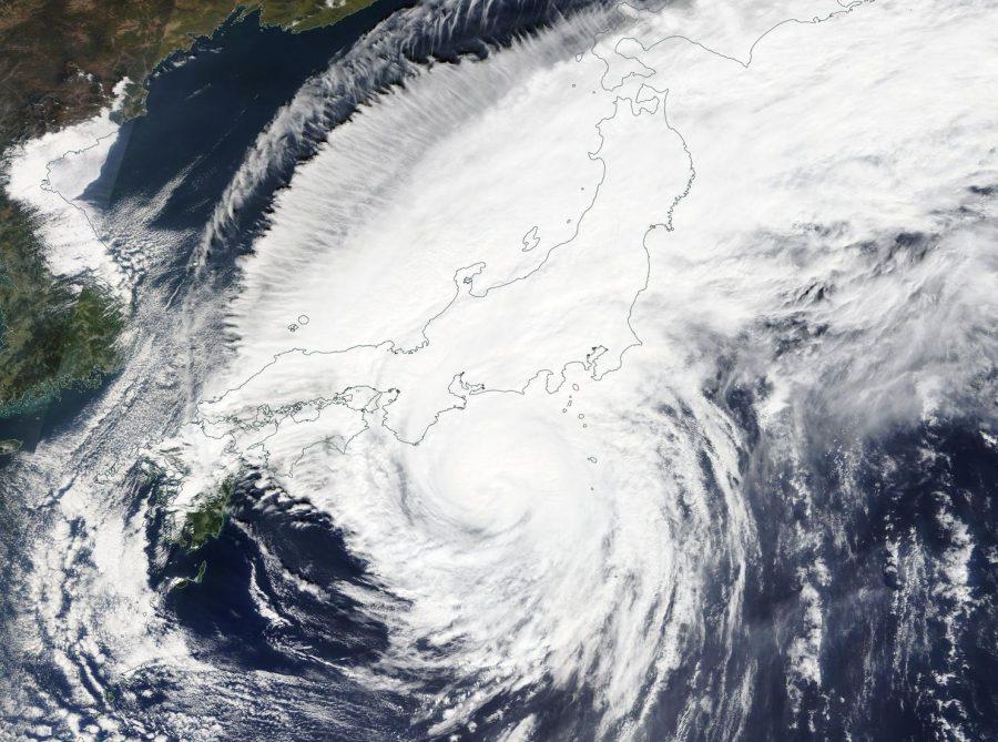 Typhoon Hagibis strikes Tokyo Japan killing many.