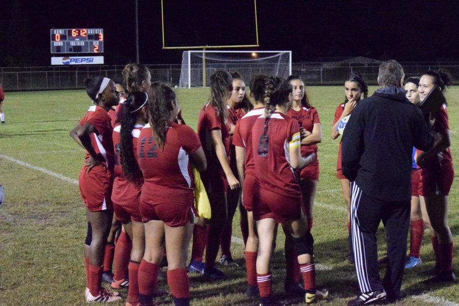 Ladies Soccer Struggles With Season Opener
