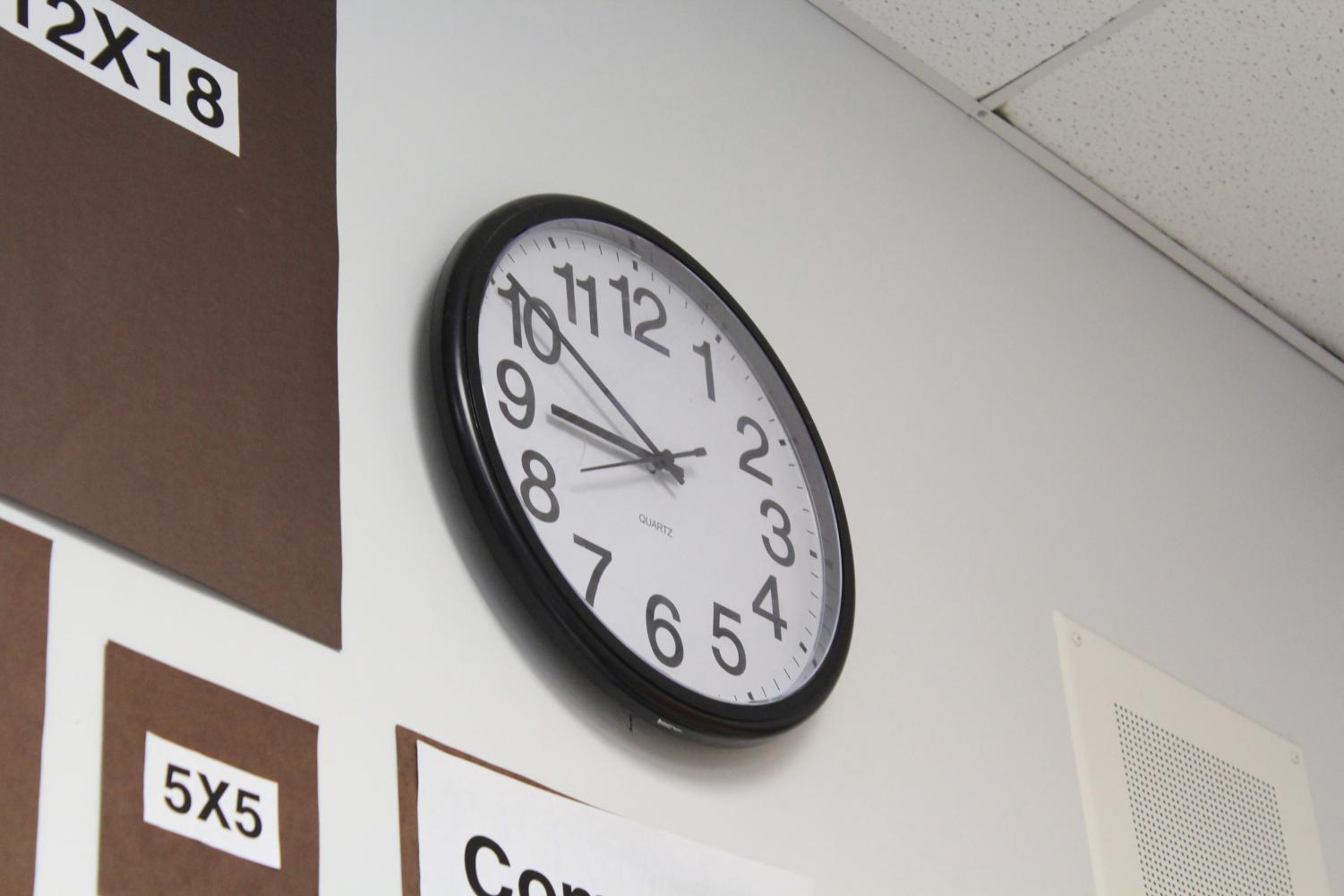 Students should get a minimum of around nine to nine and a half hours of sleep per day.