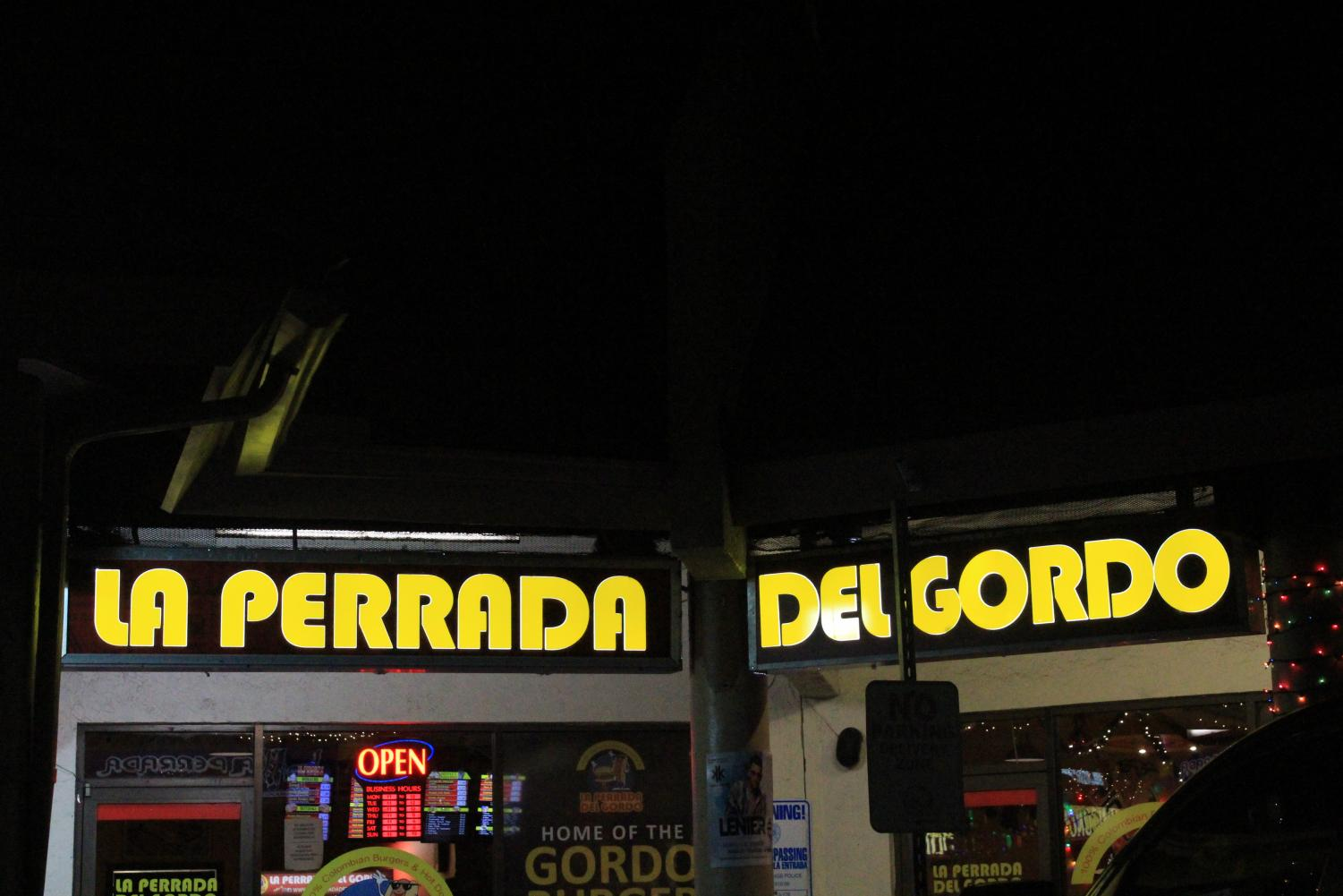 La Perrada del Gordo serves Colombian food.