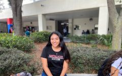 Jessica Perez enjoys playing the violin and participating in the Criminal Justice Academy.