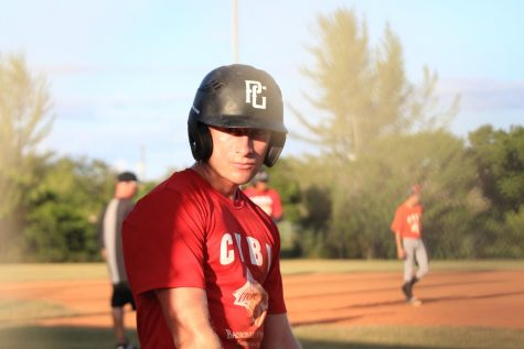 Eathyn Little has been playing baseball for over thirteen years and hopes to make it to the major leagues.