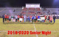 Soccer Senior Night: Soccer Season Comes To An End