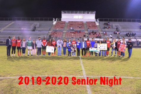 Soccer Senior Night: Soccer Season Comes To An End