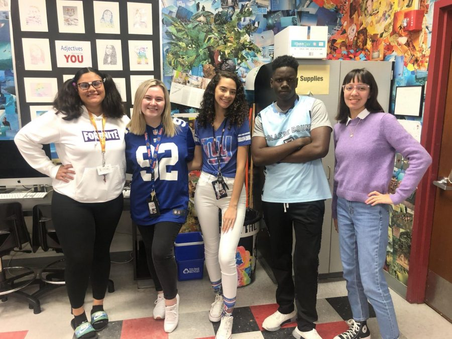 The Tribe starts off Spring Spirit Week by dressing up as mathletes and athletes.