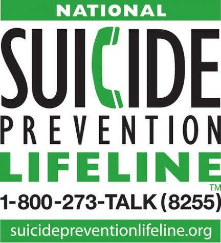 The National Suicide Prevention Lifeline is open 24/7/365