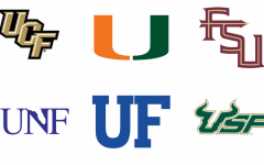 Logos of colleges and universities across Florida.