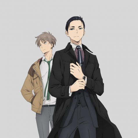 The Millionaire Detective - Balance: Unlimited lead characters Daisuke Kambe (front) and Haru Kato (back).