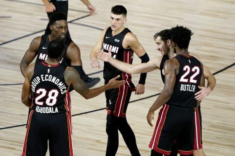 The Heat took a convincing 103-94 win over the Bucks to book a spot in the Eastern Conference Finals.