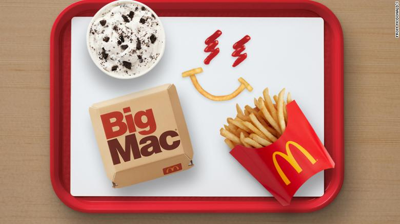 The promotional ad by McDonalds for the J Balvin meal.