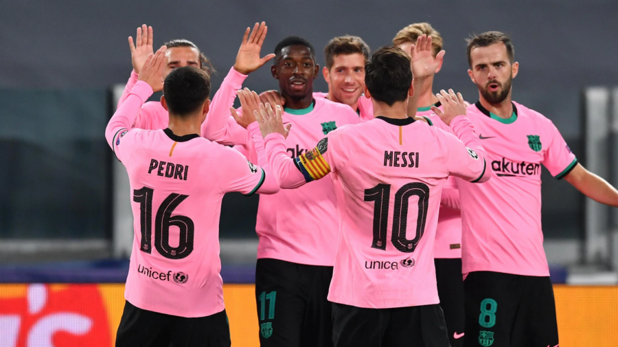Lionel Messi struck a penalty in the 90th minute to solidify a Barcelona win against Juventus.