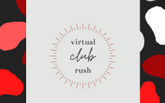 Club Rush is this Wednesday at 5 pm through Google Meet.