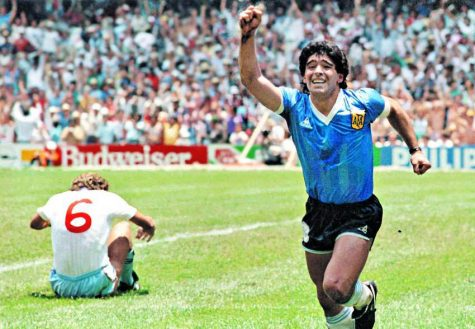 "Diego Maradona is hailed as one of the ""greatest players of all time""."