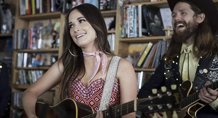 Country singer Kacey Musgraves performs at the Tiny Desk