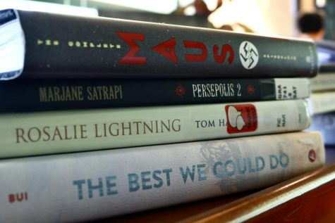 A selection of my favorite graphic novels.