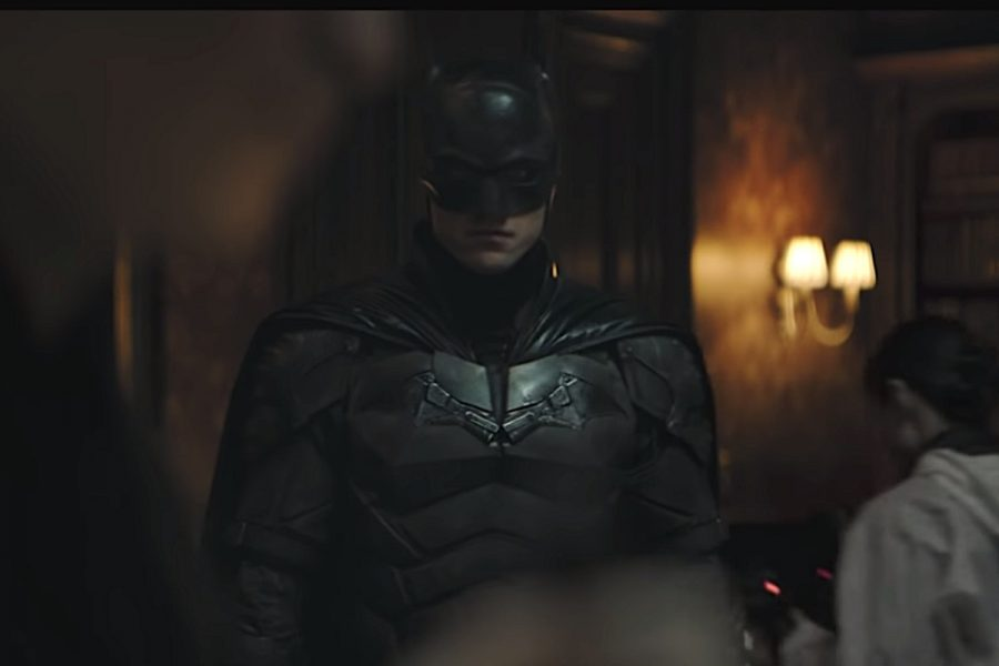 Robert+Pattinson+plays+Batman+in+%22The+Batman%22+releasing+March+4%2C+2022.+This+trailer+screenshot+is+taken+by+Vox.+