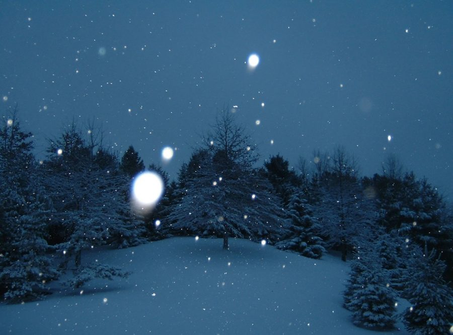 Winter officially begins December 21st.
