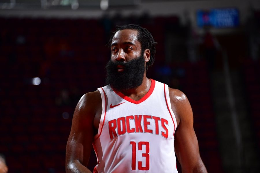 James Harden has been traded to the Brooklyn Nets for Caris LeVert, Rodions Kurucs, four future first-round picks and four draft swaps.