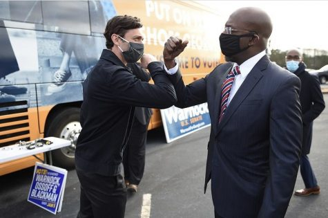 Senator-Elects Jon Ossoff and Raphael Warnock .